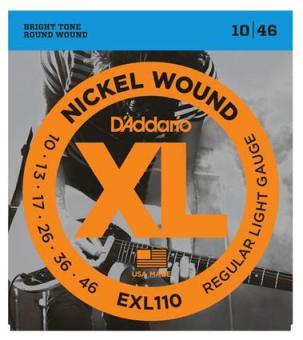 D'Addario EXL 110 Satz 0.10-0.46