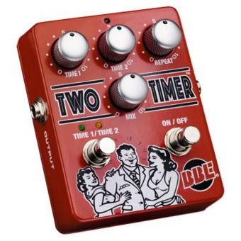 BBE Two Timer Delay Pedal 330ms