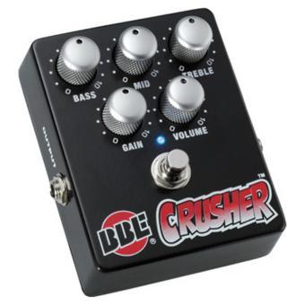 BBE Crusher Hi-Gain Distortion Pedal