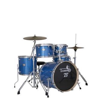 Tamburo T5 Serie Std.Blue Sparkle +HW+Cymbals