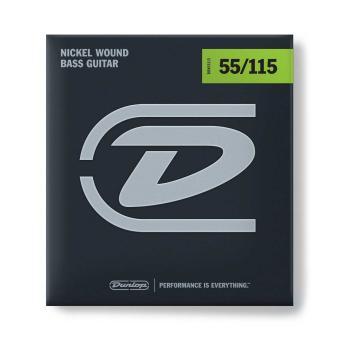 Dunlop E-Bass-Saiten 55-115 Nickel Wound