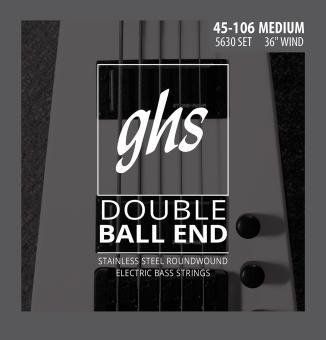 GHS 5630 Satz E-Bass Double Ball End