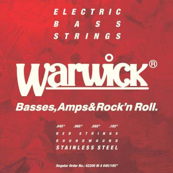 WARWICK Red Strings Bass 45-105 42200