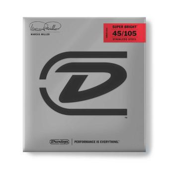 Dunlop E-Bass-Saiten 45-105 Marcus Miller